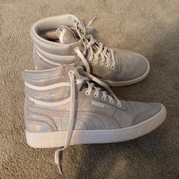 Puma Shoes | High Top Tennis | Poshmark